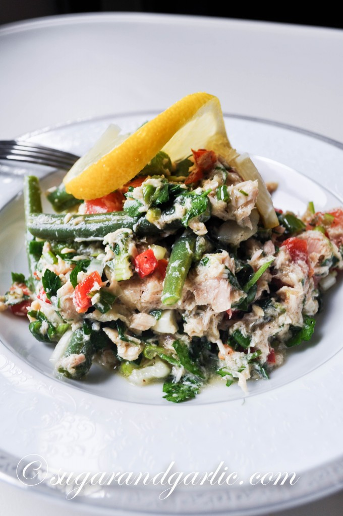 green bean tuna salad