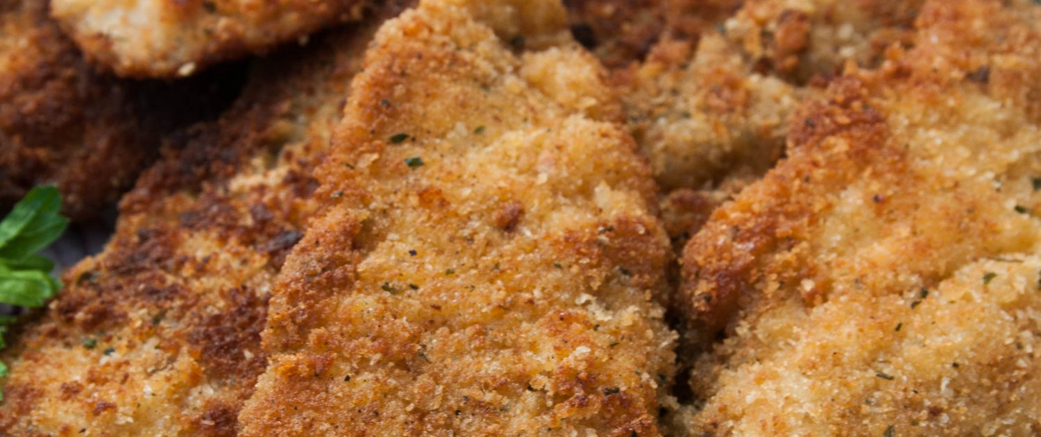 Chicken Pane (Egyptian breaded chicken)