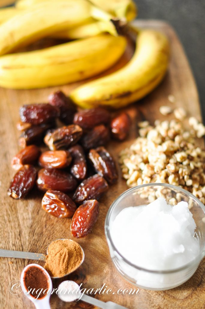 dates, oil, nuts, bananas