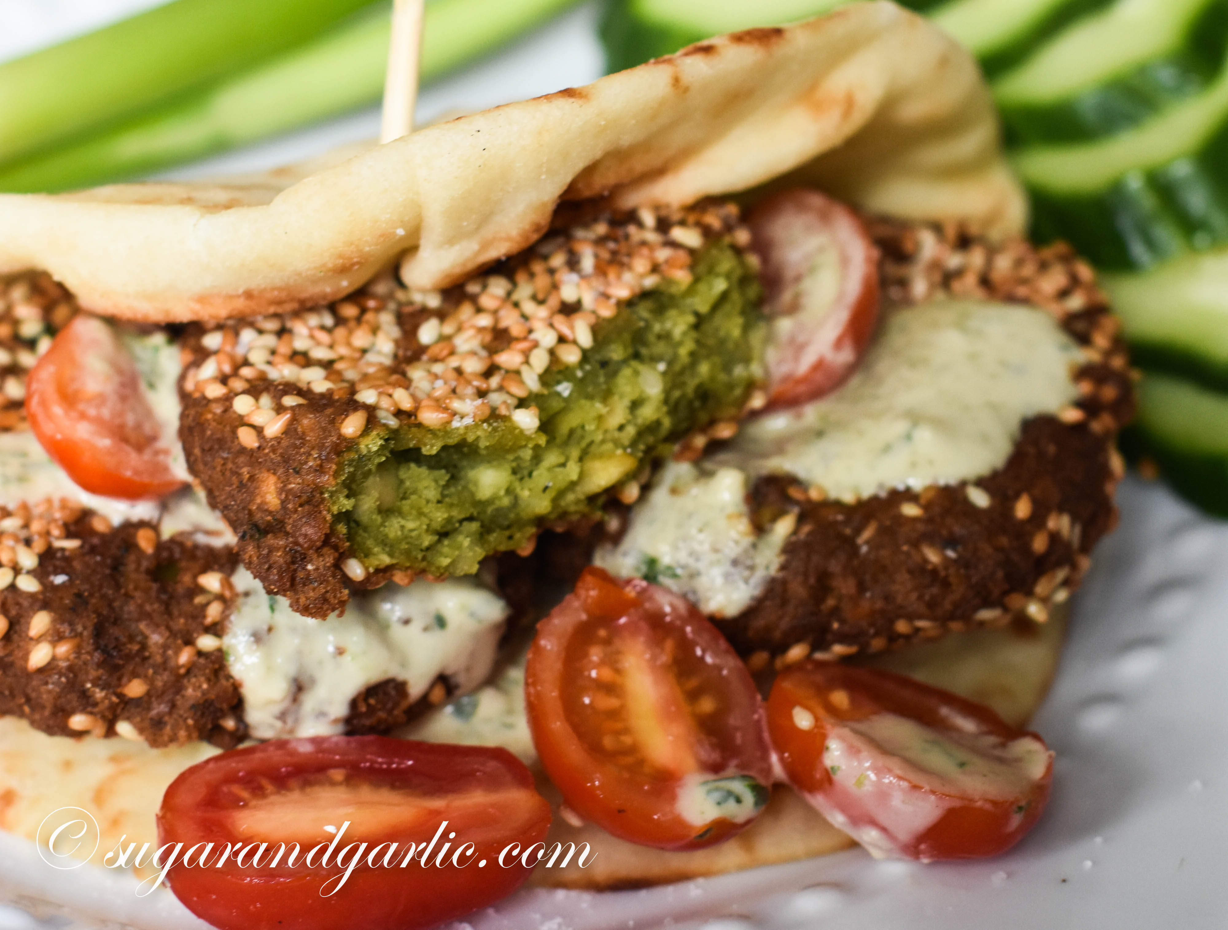 Egyptian falafel the best recipe out there taamiya sugar 2017 01 13sugarandgarlic2017 9 forumfinder Choice Image