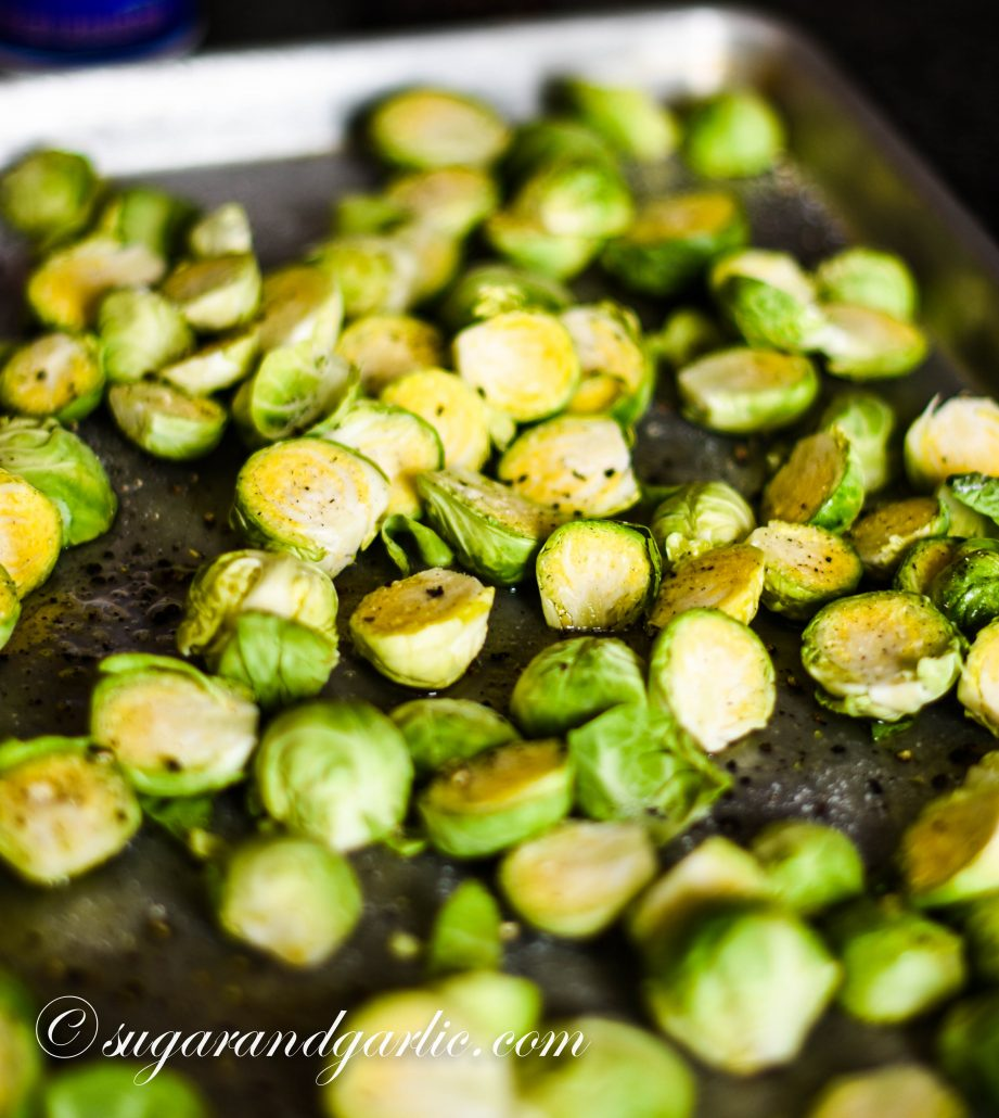 roast the brussels sprouts