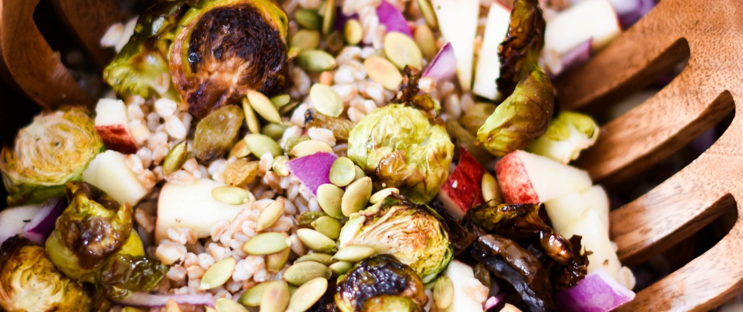 Brussels Sprout and Farro Salad