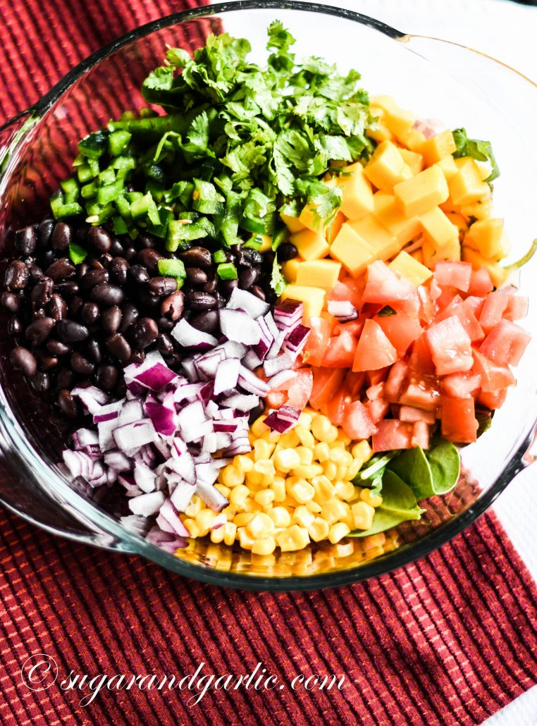 mango black bean salad ingredients