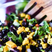mango and black bean salad